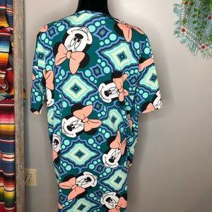 LuLaRoe Tops - Lularoe Disney Minnie Mouse hi-lo t-shirt XXS